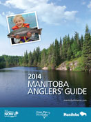 2014 Manitoba Anglers Guide Cover